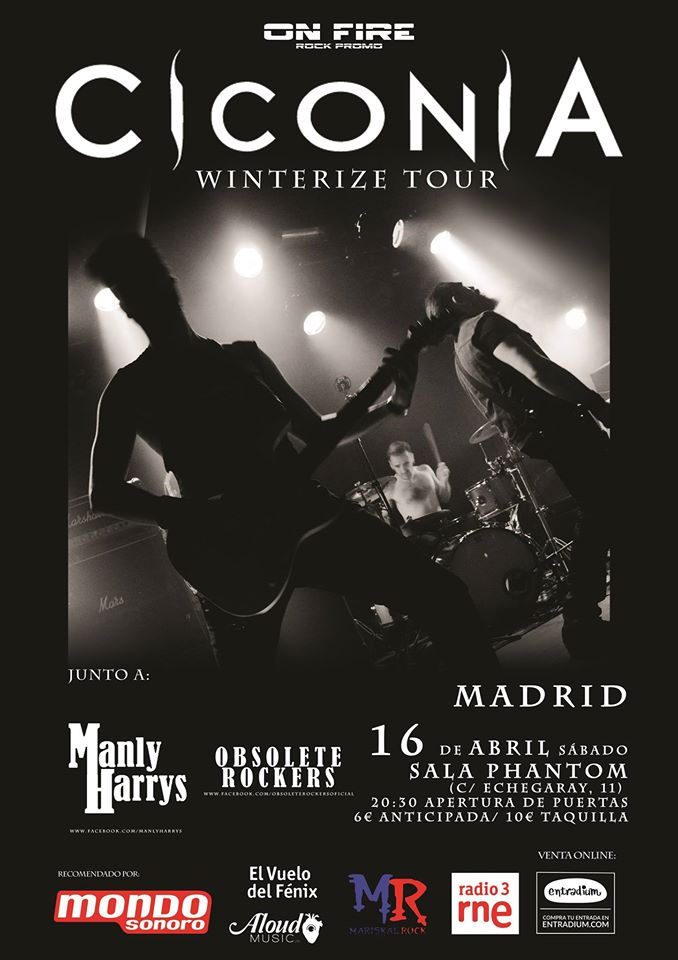 ciconia en madrid 16 de abril