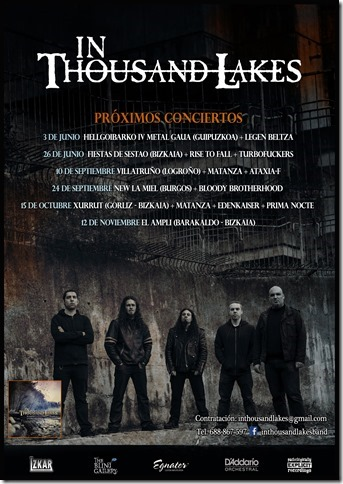 In thousand lakes fechas