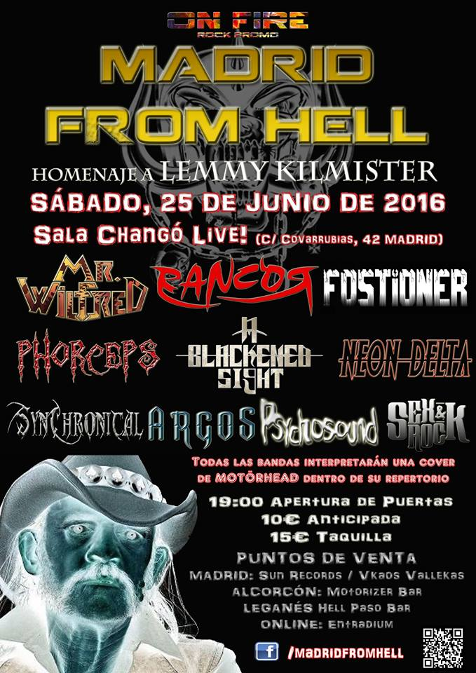 Madrid from hell - cartel completo