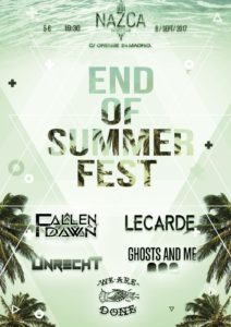 END OF SUMMER FEST @ Sala Nezca