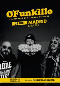 O'FUNK'ILLO EN MADRID @ Sala But