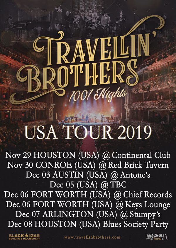 Travellin' Brothers - USA Tour