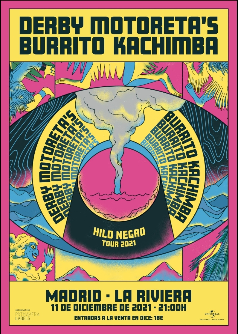 Derby Motoreta's Burrito Kachimba - Concierto fin de gira