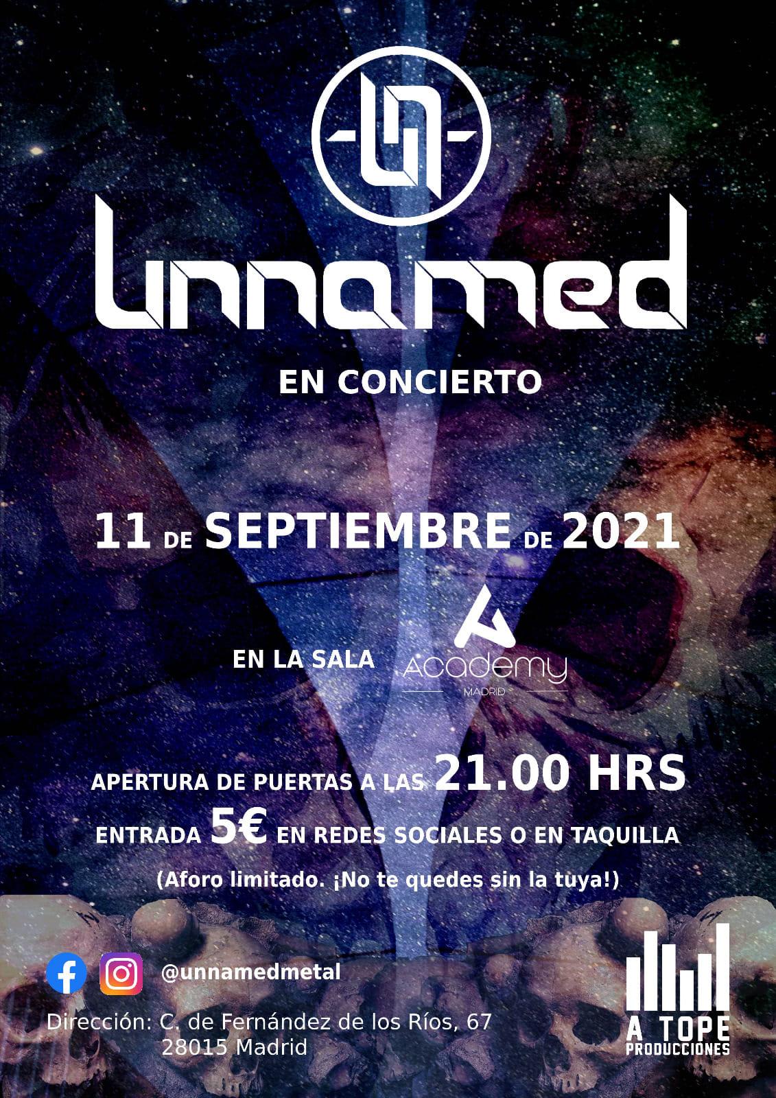 Unnamed concierto en Madrid